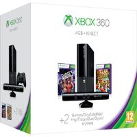 XBOX 360 KINECT 4GB + 2 HRY