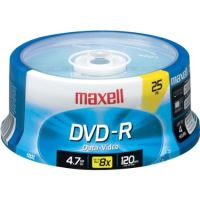 MAXELL DVD-R 25SPINDL 16X