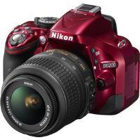 D5200 Red + 18-55 AF-S DX VR NIKON