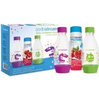 Dětský set 2 lahve Příšerky + sirup SODA