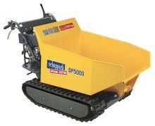 pásový přepravník 500 kg s hydraulickým sklápěním korby Scheppach DP 5000