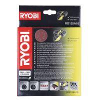 10 ks sada brusných papírů Ryobi RO 125 A10