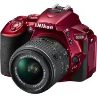 D5500 + 18-55mm VR II Red KIT NIKON
