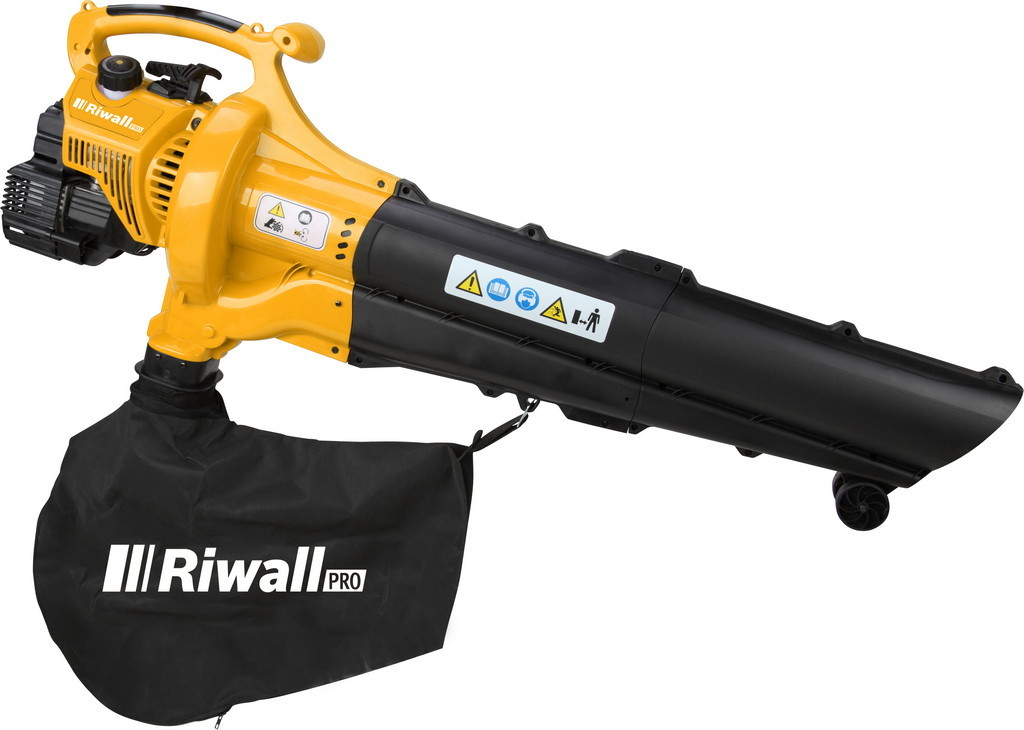 vysavač/foukač s benzinovým motorem Riwall PRO RPBV 31
