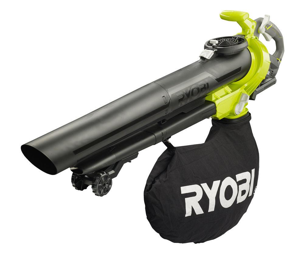 aku 36V bezuhlíkový vysavač / foukač Ryobi RBV36B
