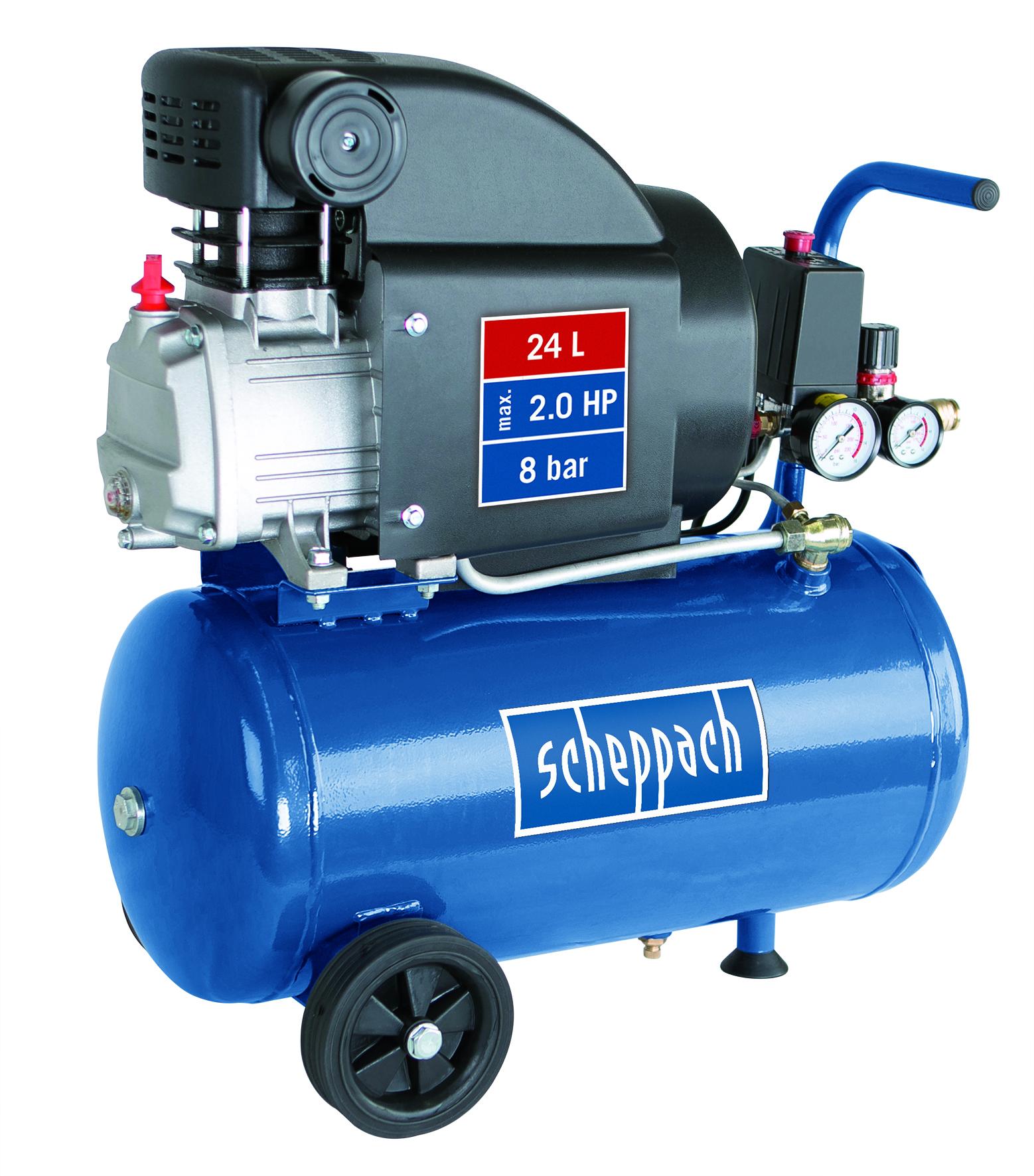 olejový kompresor Scheppach HC 25 + ZDARMA 4 roky záruky