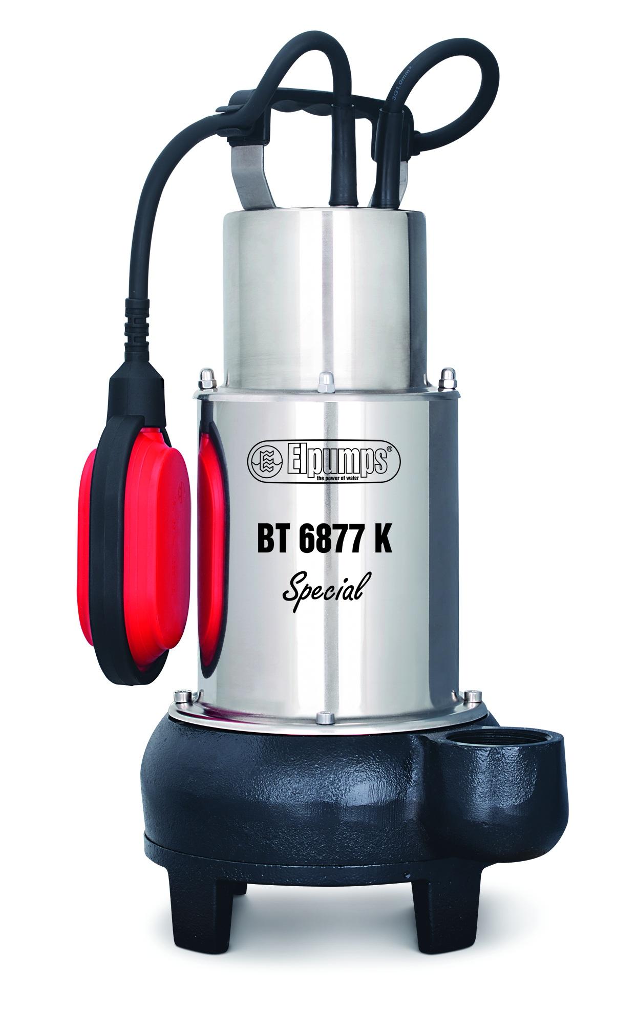 kalové čerpadlo do septiku s oběžným kolem Elpumps BT 6877 K Special