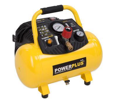 POWERPLUS POWX1723 bezolejový kompresor 12l