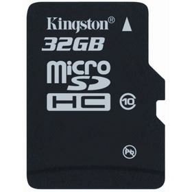 KINGSTON SDHC MICRO 32GB CL10 + ADPT CL10