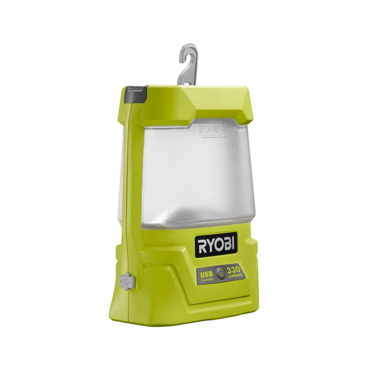 aku 18 V svítilna s USB výstupem Ryobi R18ALU-0