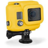 SILG2/YEL SILICONE COVER HD3 GOPRO