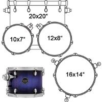 SNM529XFPH DRUM SET MAPEX