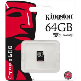 MicroSDXC 64GB CL10 SDCX10 KINGSTON