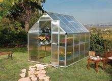 polykarbonátový skleník Palram multiline 6x8 + ZDARMA základna skleníku + ZDARMA strunová sekačka Fieldmann FZS 2000-E + hnojivo Biocin + prodloužená ZÁRUKA 10 LET