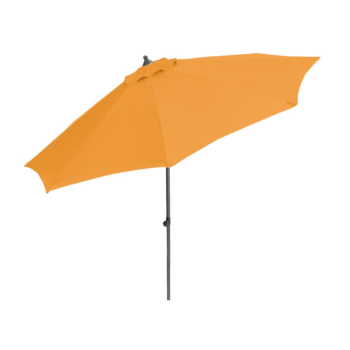 středový slunečník 2,7 m (oranžový) Garland Venice