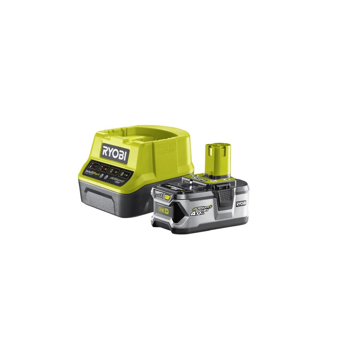 sada 18 V lithium iontová baterie 4 Ah s nabíječkou RC18120 ONE+ Ryobi RC18120-140