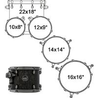 SNM628XBKFB DRUM SET MAPEX